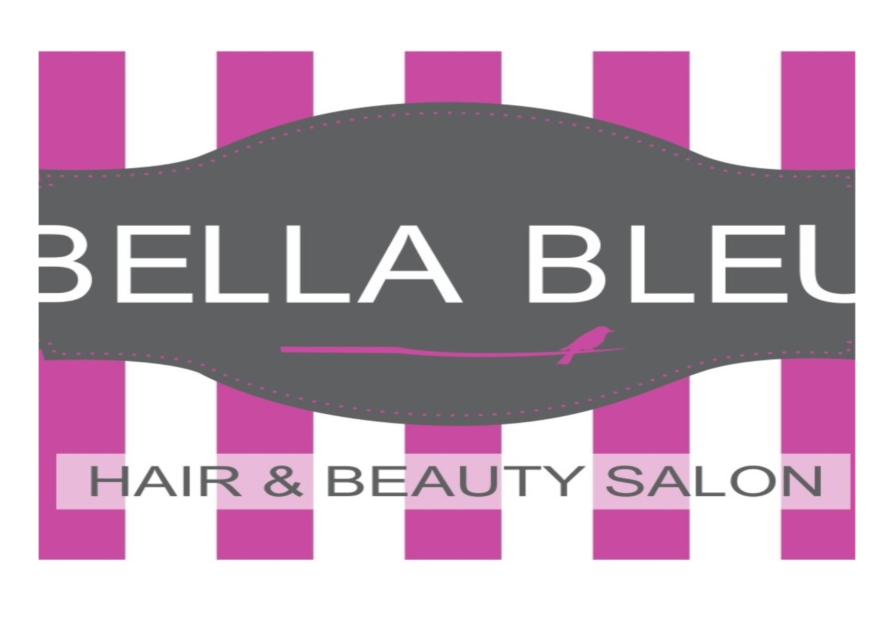 Logo of Bella Bleu Hair and Beauty Salon